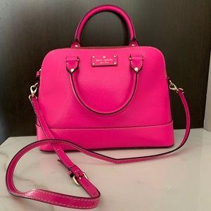 Kate Spade Pink Crossbody Handbag!